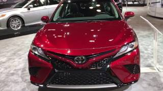 2018 New Toyota Camry XSE - first look - NY Auto Show 2017