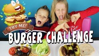 BURGER Challenge / GamerGirl / RonaldOMG