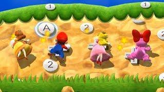 Mario Party 9 Step It Up - Daisy vs Mario vs Peach vs Birdo Master Difficulty| Cartoons Mee