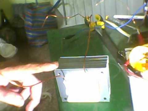 Transformador para cargador de baterias para autos de fabricacion casera.