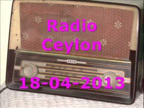 Rang Tarang~Radio Ceylon Morning 18-04-2013~Part-3