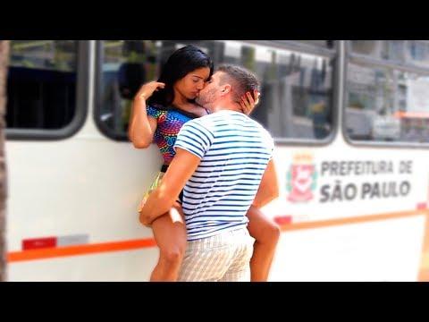 Xxx Mp4 Kissing Prank BUS STOP EDITION 3gp Sex