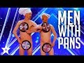 Download Video Download Men with Pans SHOCK the Audience | America's Got Talent 2017 3GP MP4 FLV