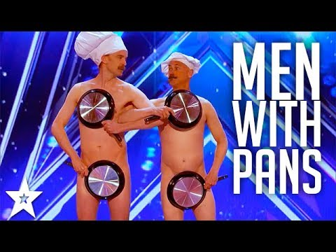 Xxx Mp4 Men With Pans SHOCK The Audience America 39 S Got Talent 2017 3gp Sex
