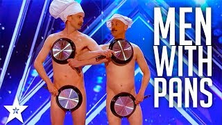Men with Pans SHOCK the Audience | America