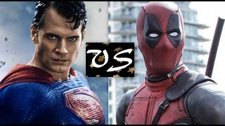 Superman VS Deadpool...Who'd Win The Fight? A Superman VS Deadpool Death Battle Fight!