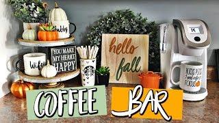COFFEE BAR: Fall Decor Ideas & Target Haul | Belinda Selene