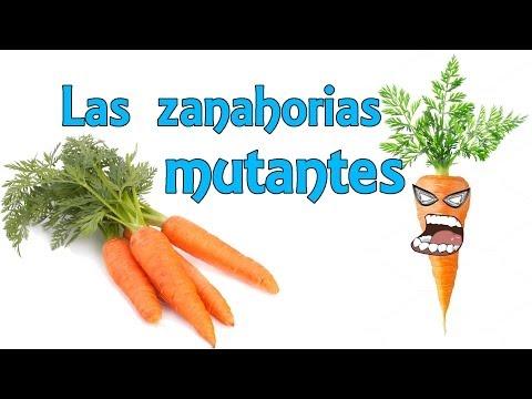 Las zanahorias mutantes Experimentos Caseros para niños
