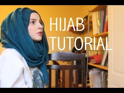 Simple hijab tutorial | Safiyahhh