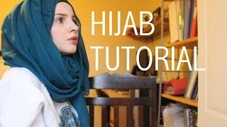 Simple hijab tutorial | Safiyahhh