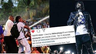 "Vybz Kartel Says ""Dem Teef Mi Stage Movements"" on Instagram"