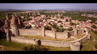 Film drone Carcassonne