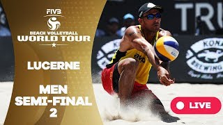 Lucerne - 2018 FIVB Beach Volleyball World Tour - Men Semi Final 2