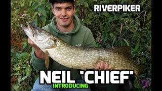 Pike lure fishing - Neil with a nice pike  (Video 39)