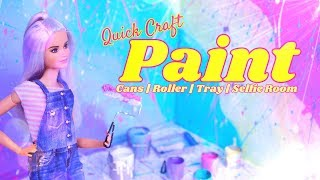 DIY - How to Make: PAINT Craft | Roller | Paint Tray | Selfie Room | Paint Buckets & More