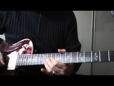 Eagles  -Hotel California- guitar solo by Davideredroom XxxX