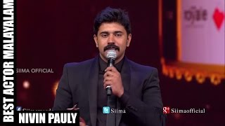 Micromax Siima 2015 | Best Actor Malayalam | Nivin Pauly | 1983