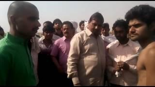 BJP Minister Brijesh Pathak brother Rajesh Pathak abuses policeman