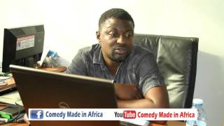 The laziest Employee (Comedy made in Africa)