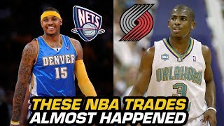 4 NBA TRADES That Almost Happened That Are Forgotten About