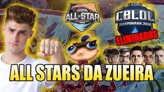 ALL STARS DA ZUEIRA #3 - REZENDEEVIL TÉCNICO DE LOL E BRASIL ELIMINADO
