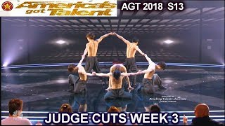 Blue Tokyo Acrobatic Dance Group DIVIDED JUDGES America