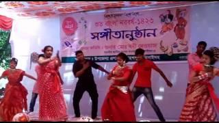 Pohela Boishakhi Song Dance পহেলা বৈশাখী গানের সাথে বাংলার নাচ