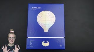 Unboxing BTS 방탄소년단 2017 Live Trilogy EPISODE III THE WINGS TOUR in Seoul CONCERT DVD