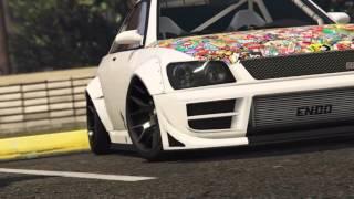 PS4 GTA V online | car meet |Rocksar Editor