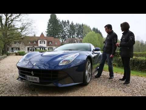 La Ferrari F12berlinetta à l essai sur autoplus.fr