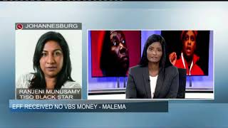 EFF received no VBS money - Malema