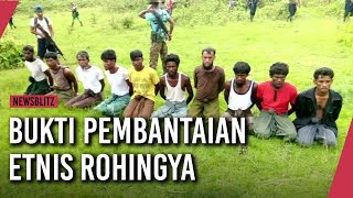 Tragis, Bukti Pembantaian Etnis Rohingya
