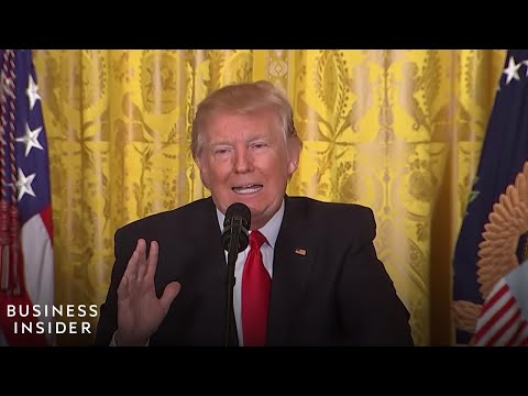 Trump s most heated exchanges with reporters at his longest press conference