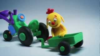 ClayPlay - Play Doh Stop Motion Animation - Tractor Episode