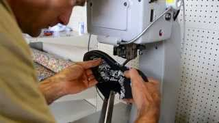 How It's Made- Sneaker Stitching