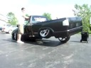 Crazy 3 Wheel in my S 10 on air standin still