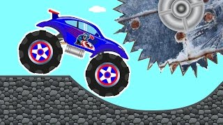 Monster Truck – Car Repairs & Cool Car Track – Kids Truck – Car Videos for Baby Toddlers