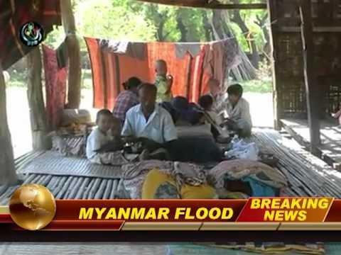MYANMAR (Burma) Apocalyptic FLOOD 215 Dead ..Nov.4,2011: Prophecy