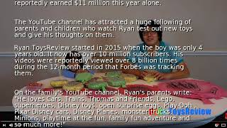 6-year-old YouTube star earns $11M reviewing toys