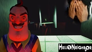 WHAT THE FREAK HAPPENED TO THE BASEMENT?? | Hello Neighbor #6 (Alpha 4)