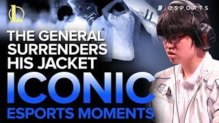 ICONIC Esports Moments: 'The General' Surrenders His Jacket (Samsung Blue vs. Samsung White, 2014)