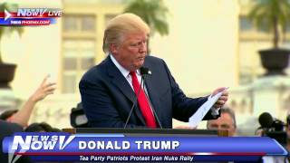 FNN: Donald Trump speaks to supporters about the Iran Deal.