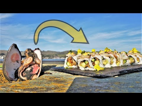 BIG OLE CLAMS Transform into SUSHI Rolls CATCH AND COOK