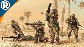 USMC ASSAULTS URBAN CENTER | COD WW3 | Men of War: Assault Squad 2 [MOD] Gameplay