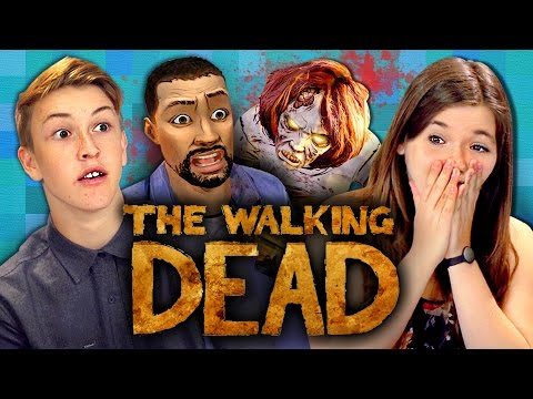 THE WALKING DEAD Episode 1 Part 1 Teens React Gaming