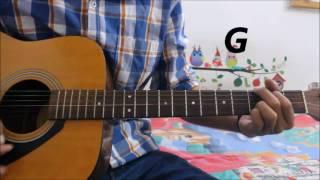Hawayein – Arijit Singh -Jab Harry Met Sejal -Guitar Cover Lesson Hindi  Chords Easy