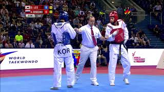 [Highlights] Male -68kg | Moscow 2017 World Taekwondo Grand Prix