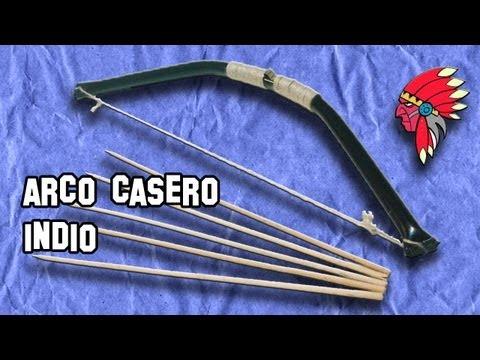 ✔ Cómo Hacer un Arco Casero Indio How to Make a Bow Home Indio