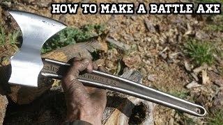 Make Custom Battle Axe With Wrench Handle