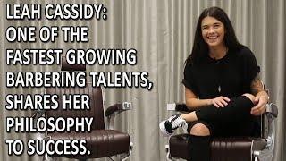 Irish Barber: Leah Hayden Cassidy Shares Her Philosophy To Barbering Success